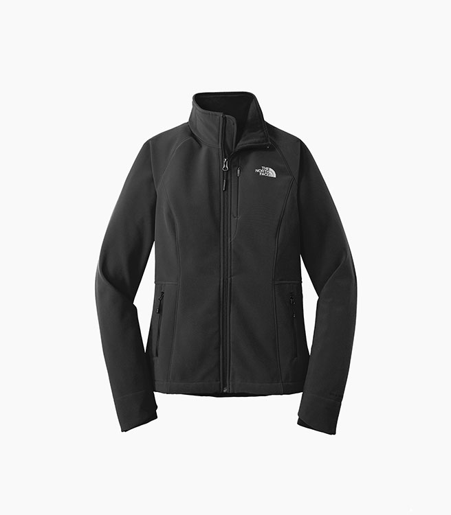 The North Face Ladies Apex Barrier Soft Shell Jacket - Black