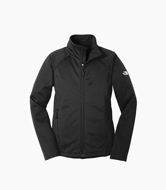 The North Face Ladies Ridgeline Soft Shell Jacket - Black