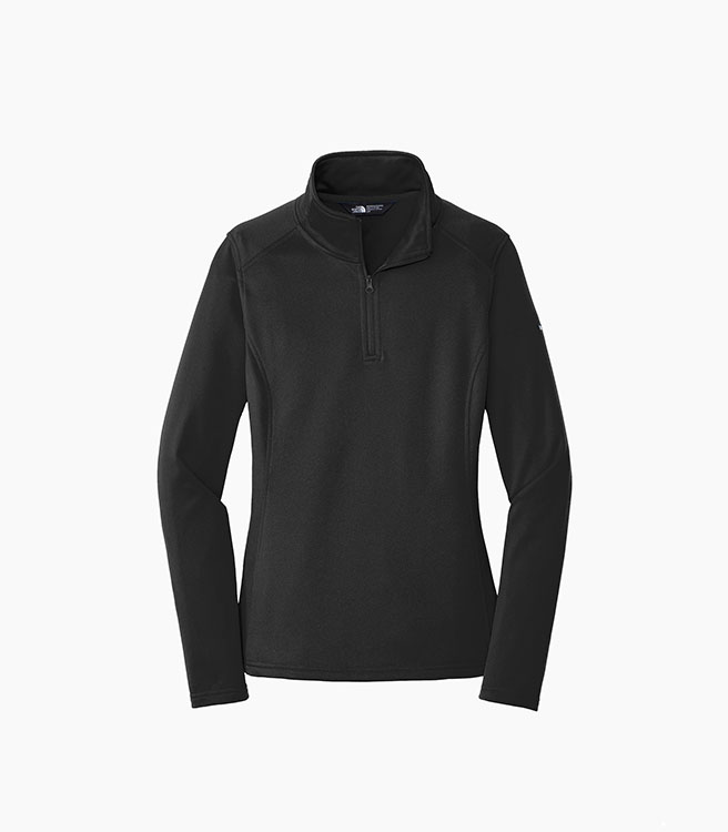 The North Face Ladies Tech 1/4 Zip Fleece - Black