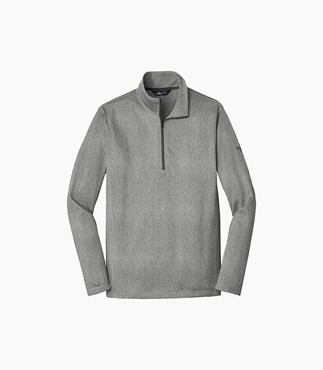 The North Face Tech 1/4 Zip Fleece - Asphalt Grey Heather