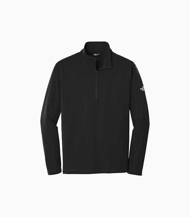 The North Face Tech 1/4 Zip Fleece - Black
