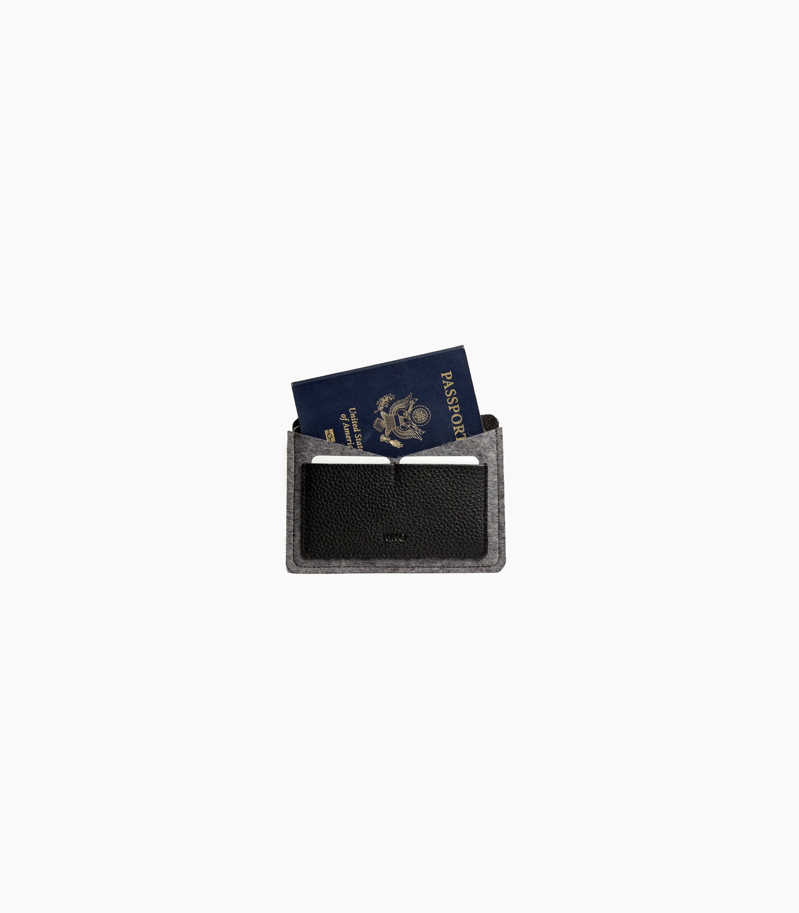 Kiko Leather Passport Holder