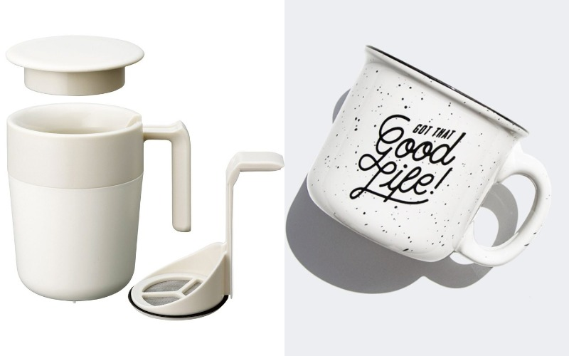 kinto-cafepress Speckled Enamel Mug