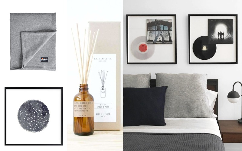 PF Reed Diffuser, Custom Frame 8x8, Custom Jersey Blanket with Tag