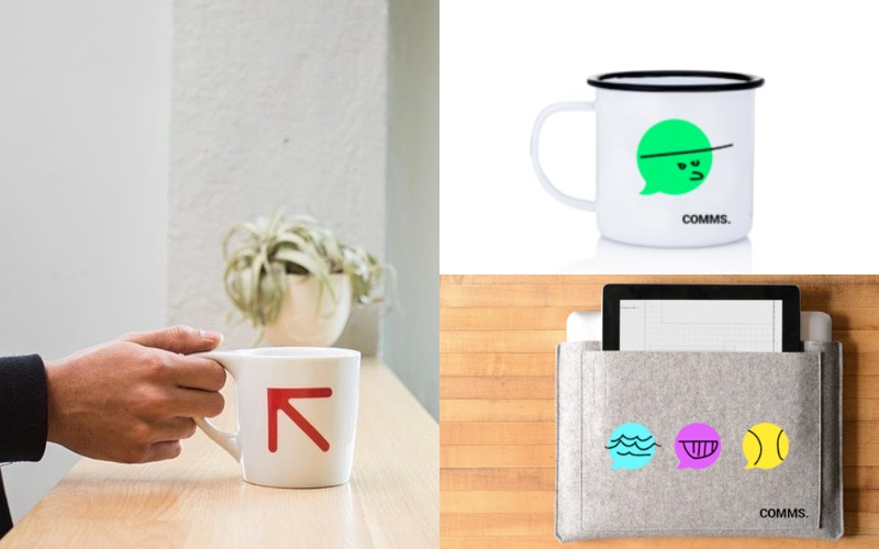 not neutral Lino Mug - Enamel mug - Laptop cases