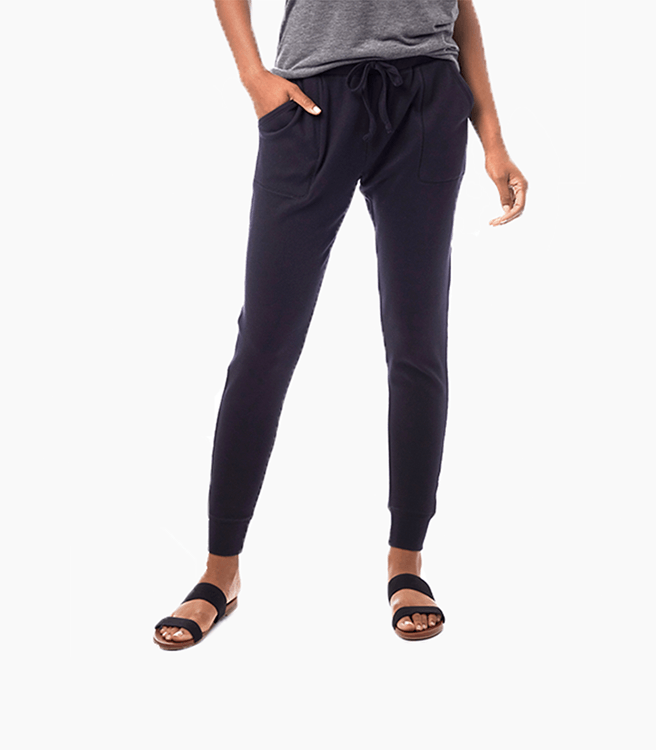 Alternative Apparel Cotton Modal Interlock Jogger Pants