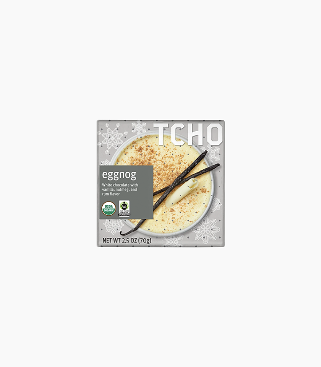 "TCHO WHITE CHOCOLATE ""EGGNOG"" BAR"