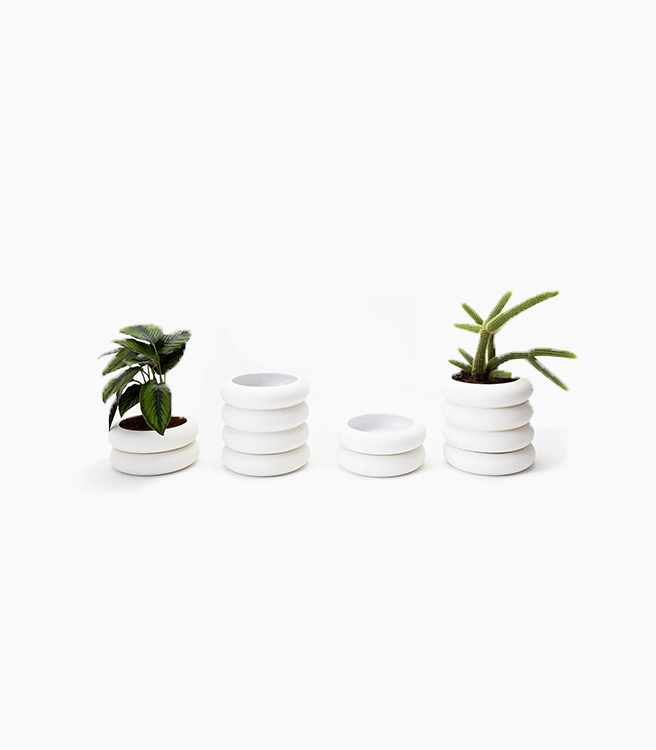 Areaware Stacking Planter Bundle