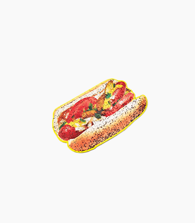 Areaware little puzzle thing® - Chicago Hot Dog