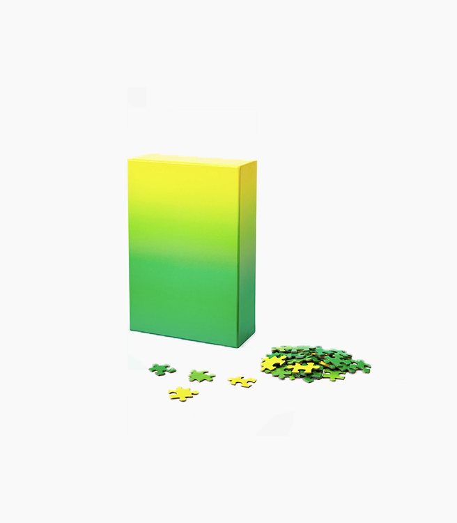 Areaware Gradient Puzzle Original - Yellow/Green