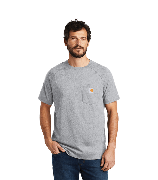 Carhartt Force ® Cotton Delmont Short Sleeve T-Shirt