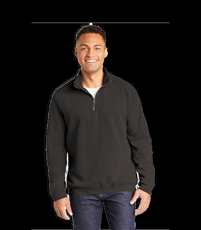 Comfort Colors ® Ring Spun 1_4-Zip Sweatshirt