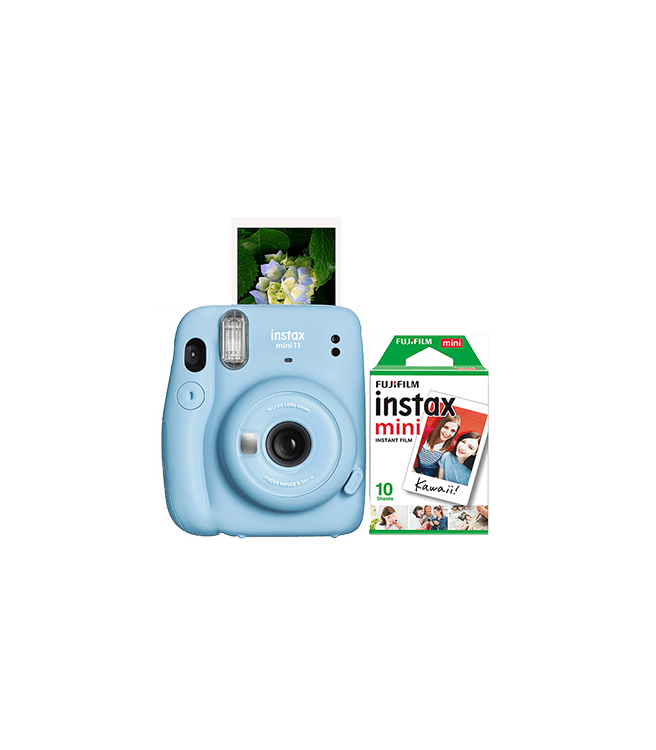 Fujifilm Instax Mini 11 Instant Camera w/ 10 Count Film