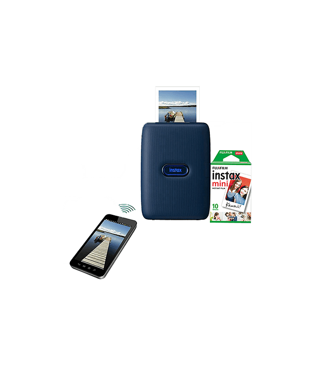 Fujifilm Instax Mini Link Smartphone Printer Dark Denim
