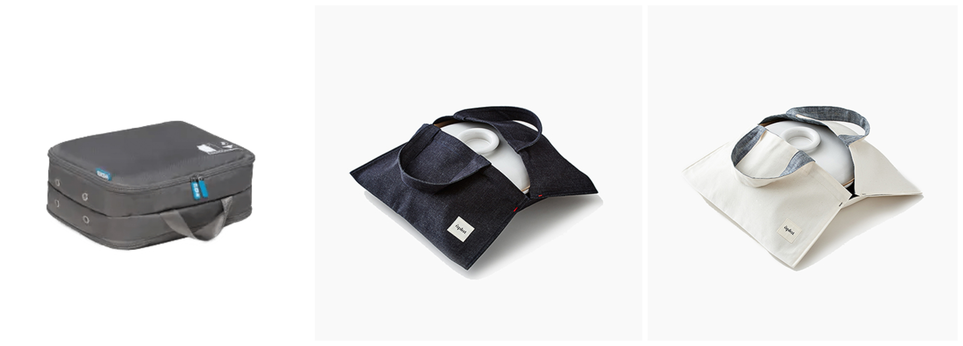 Flight 001 Spacepak Small, Aplay Culinary Tote Denim, Aplat Plat Culinary Tote Cotton