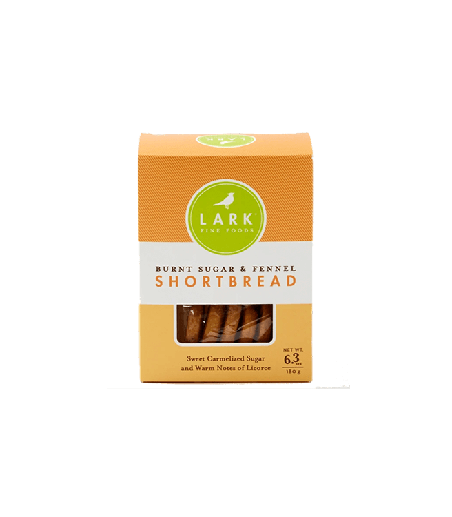 Lark Burnt Sugar & Fennel Shortbread