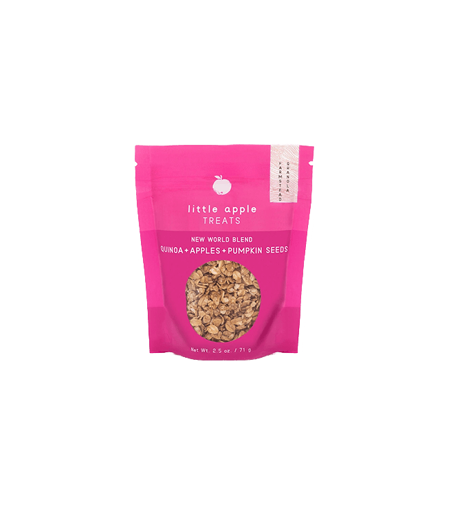 Little Apple Treats New World Blend Mini Granola