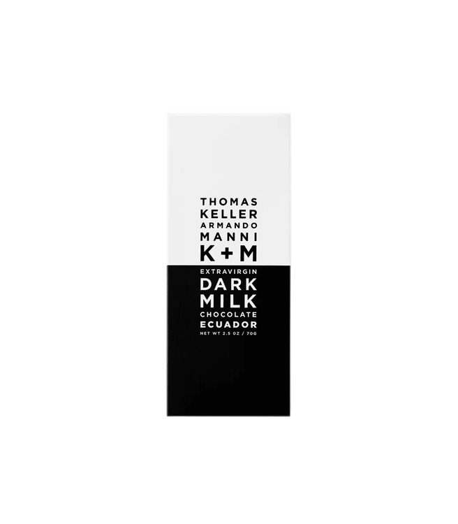 K+M Chocolate Dark Milk Chocolate Ecuador