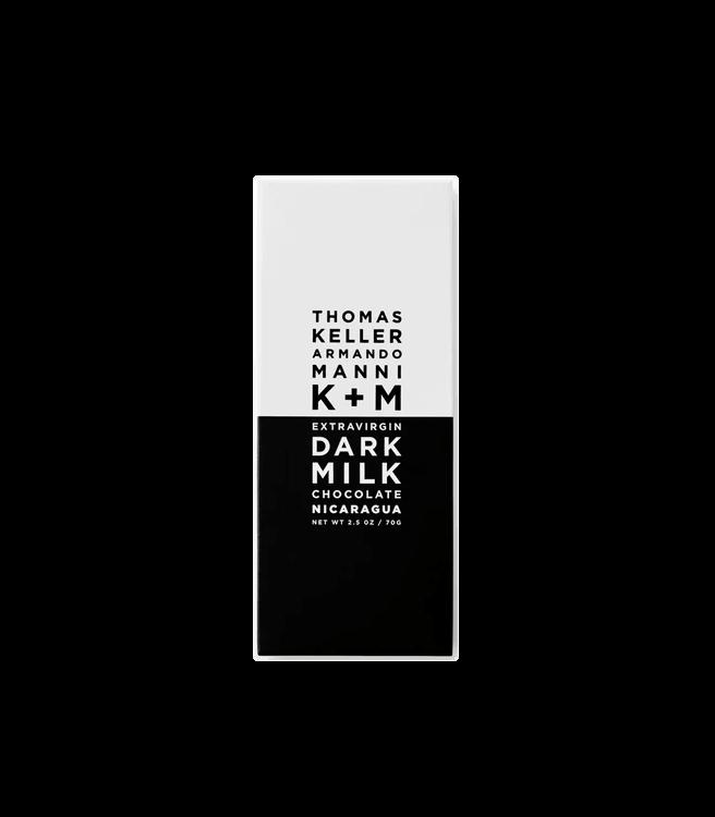 K+M Chocolate Dark Milk Chocolate Nicaragua