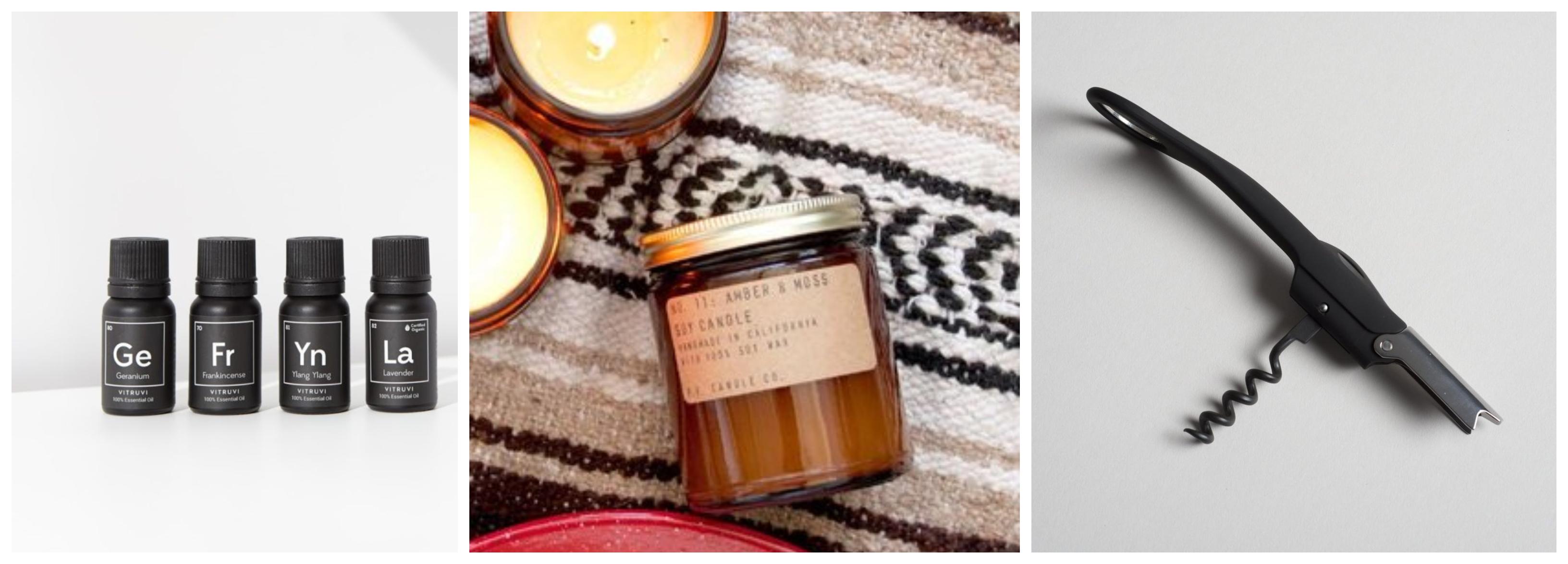 Essential Oils, PF Candle Mini, Wine Corkscrew