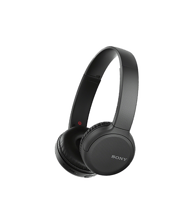 Sony Wireless Over-The-Ear Bluetooth Headphones Black