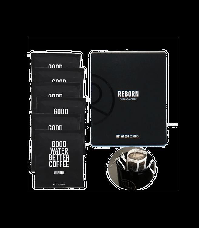 Reborn Coffee Single Serve Pour Over Drip Bag Coffee - Valencia Blend
