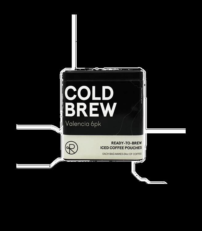Reborn Coffee Cold Brew Coffee Packs - Valencia