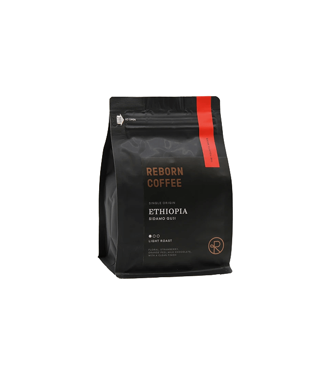 Reborn Coffee Ethiopia Coffee Premium Light Roast Bean