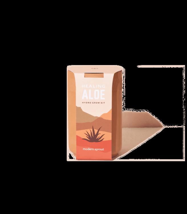 Modern Sprout Terracotta Kit - Aloe