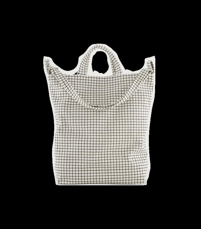 Baggu Duck Bag - Natural Grid