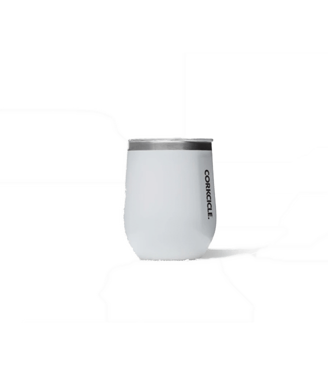 Corkcicle Classic Stemless Wine Cup 12oz - White
