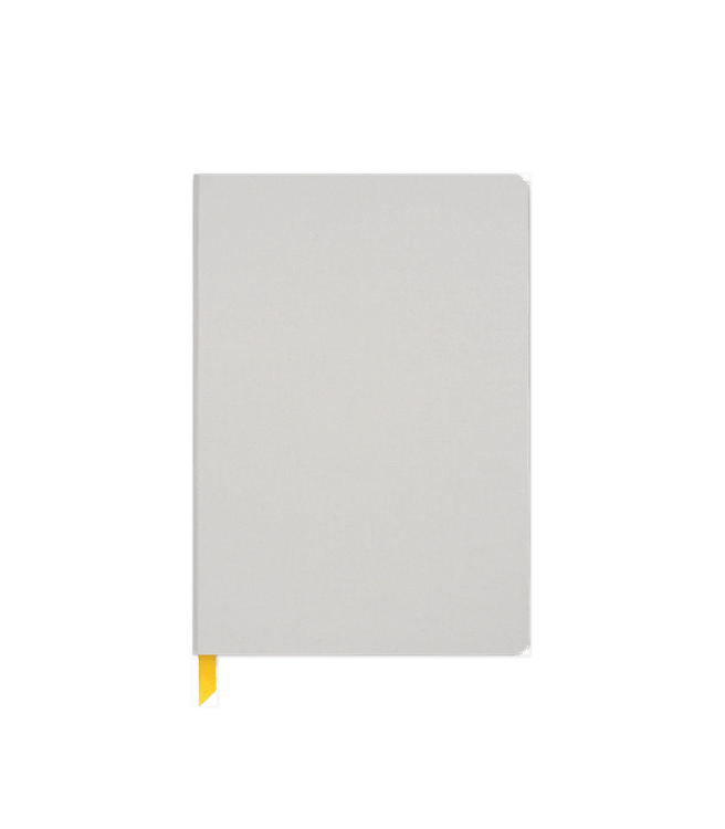 Baron Fig Confidant Hardcover Notebook Plus - Light Gray