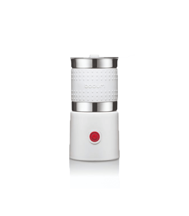 Bodum Bistro Electric Milk Frother - Barista White