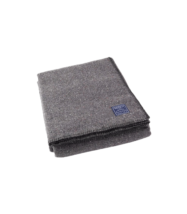 Faribault Woolen Mill Co. - Utility Wool Throw - Gray