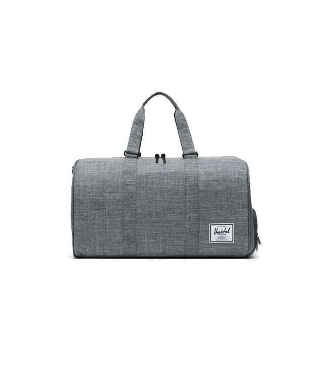 Herschel Novel Duffle Raven Crosshatch