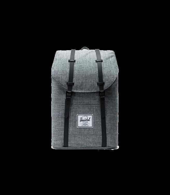 Herschel Retreat Backpack Raven Crosshatch/Black