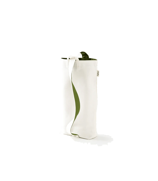 Aplat Vin Two Bottle Wine Tote - Olive