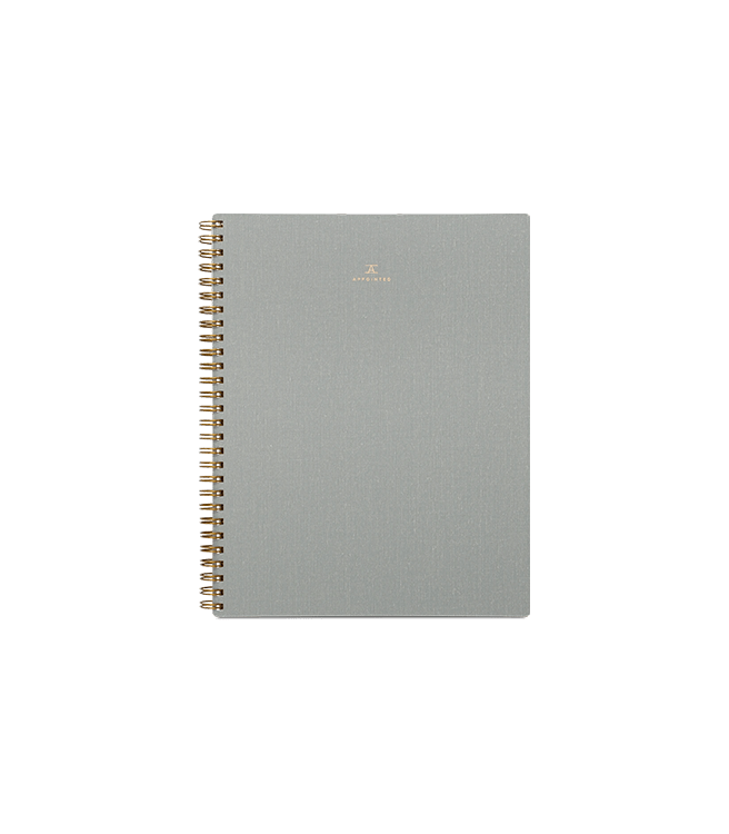 Appointed Notebook - Dove Gray