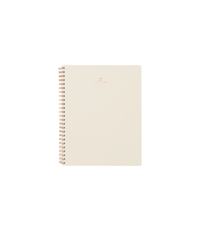 Appointed Workbook - Natural Linen