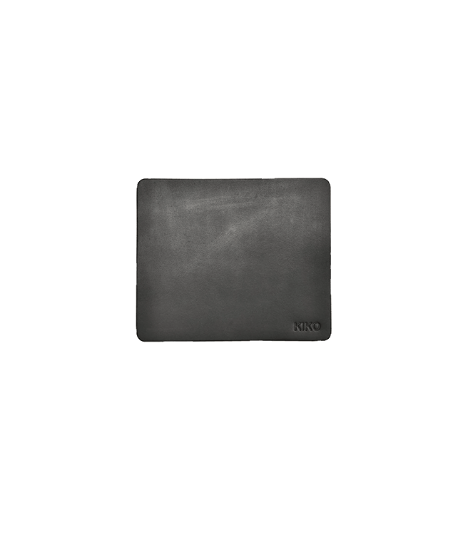 Kiko Leather Leather Mouse Pad - Black