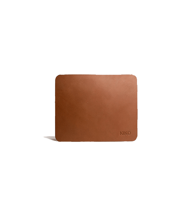 Kiko Leather Leather Mouse Pad - Brown