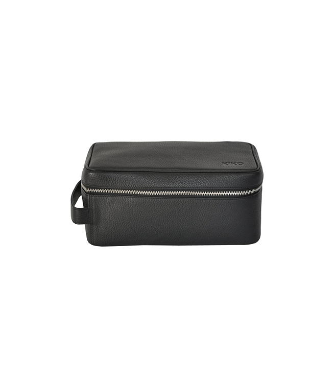Kiko Leather Dopp Kit