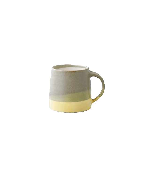 Kinto SCS-S03 Mug 11oz - Moss Green x Yellow