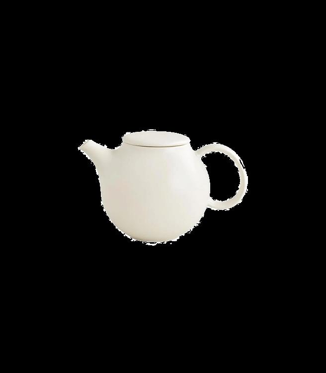 Kinto PEBBLE Teapot 18oz - White