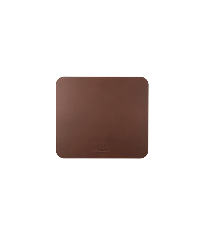 Nomad Mousepad Rustic Brown Leather