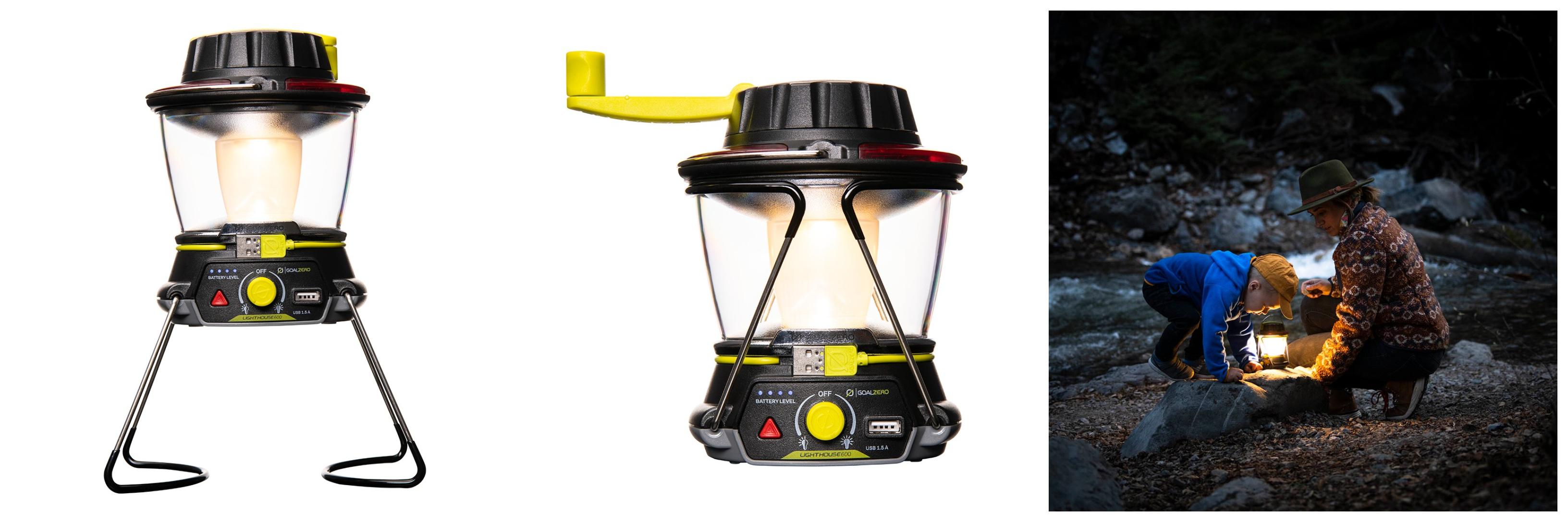 Goal Zero Lighthouse 600 Lantern and Portable USB Hub
