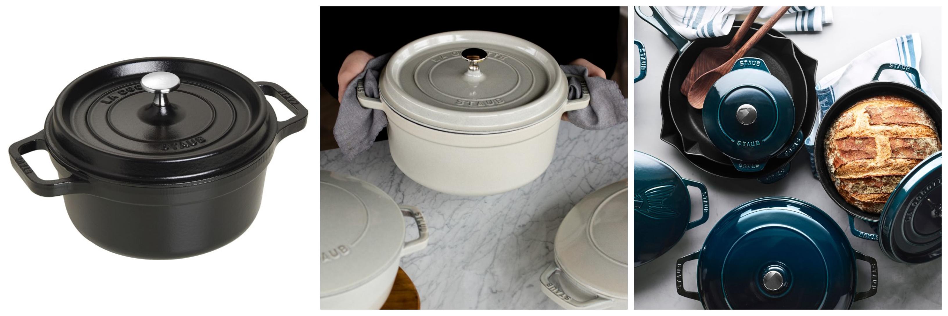 Staub Enameled Cast Iron Round Dutch Oven