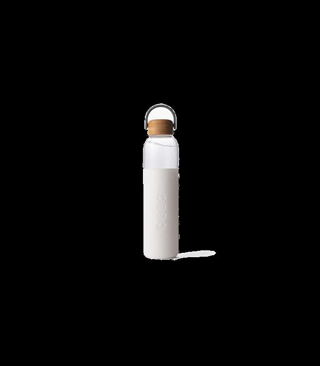 SOMA Glass Water Bottle 25oz - White