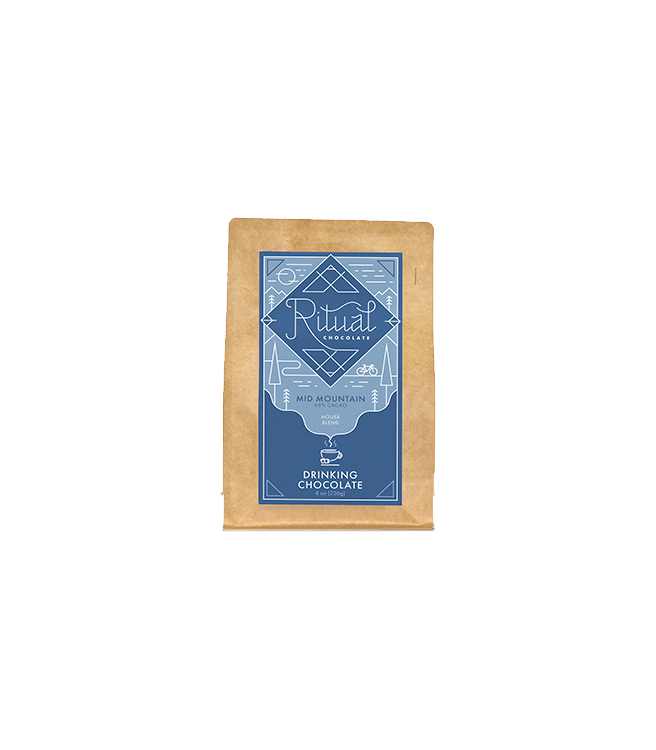 Ritual Chocolate Mid Mountain Blend Drinking Chocolate 65%
