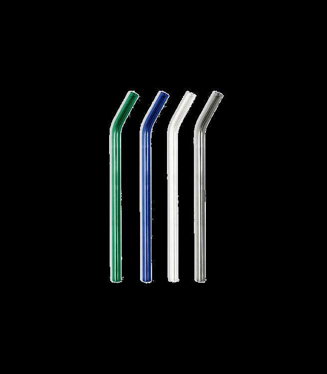 Poketo Glass Straws in Cool Set